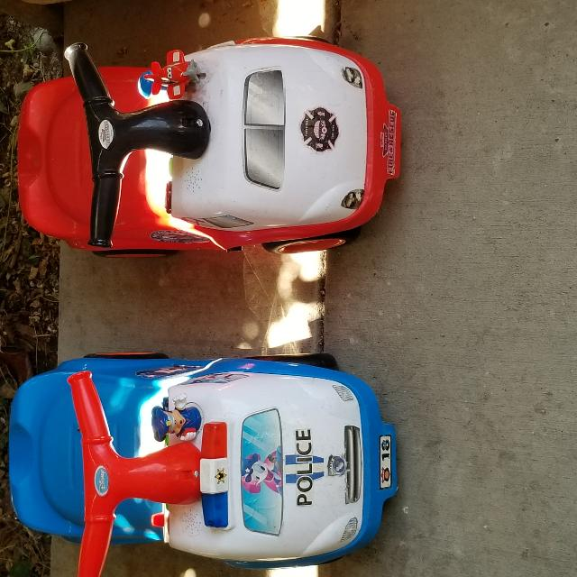 One is MICKEY Mouse that talks and the other one is Disney Planes that has music and talks. Both For $20 OR $10 EACH