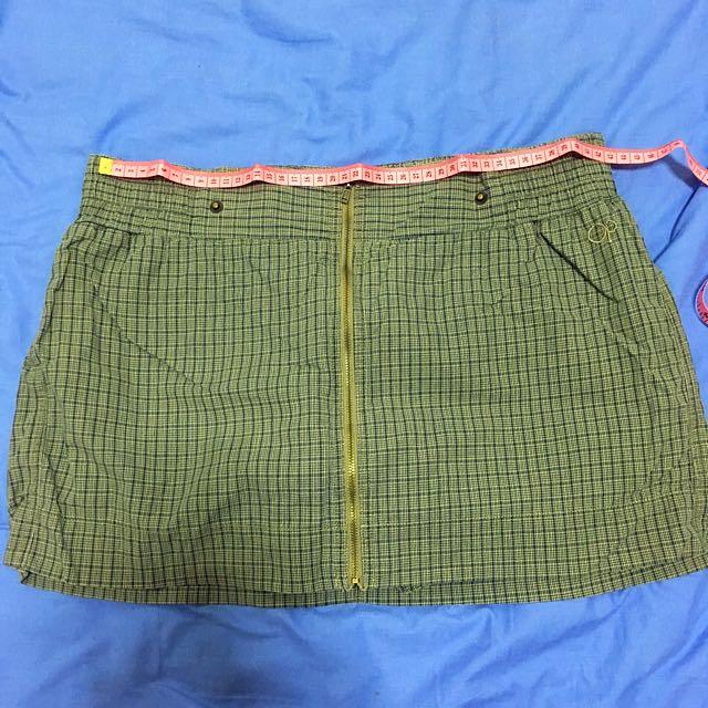 Op Skirt Short