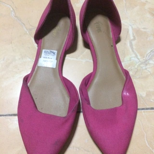 Pink Flats From Payless