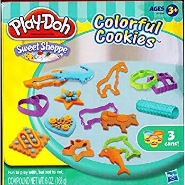 PlayDoh Colorful Cookies