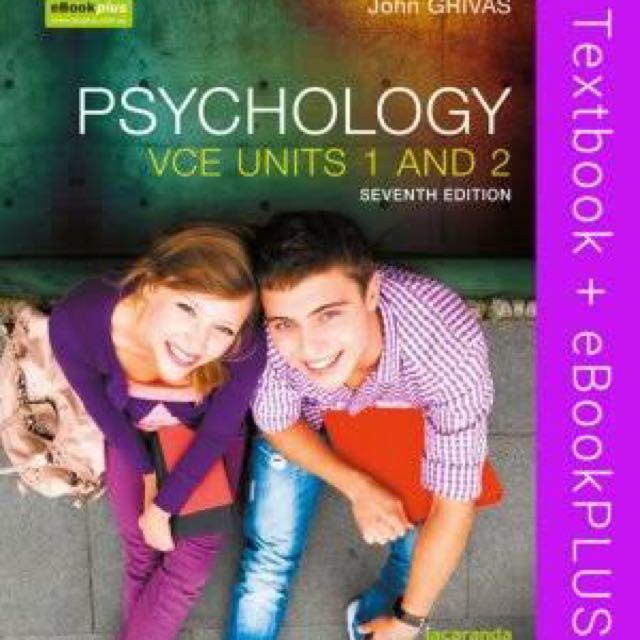 Psychology Units 1 And 2