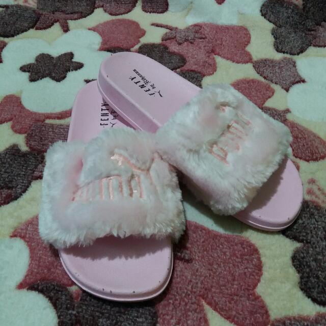 Puma Fenty Fauz Fur Slides (Not Auth)