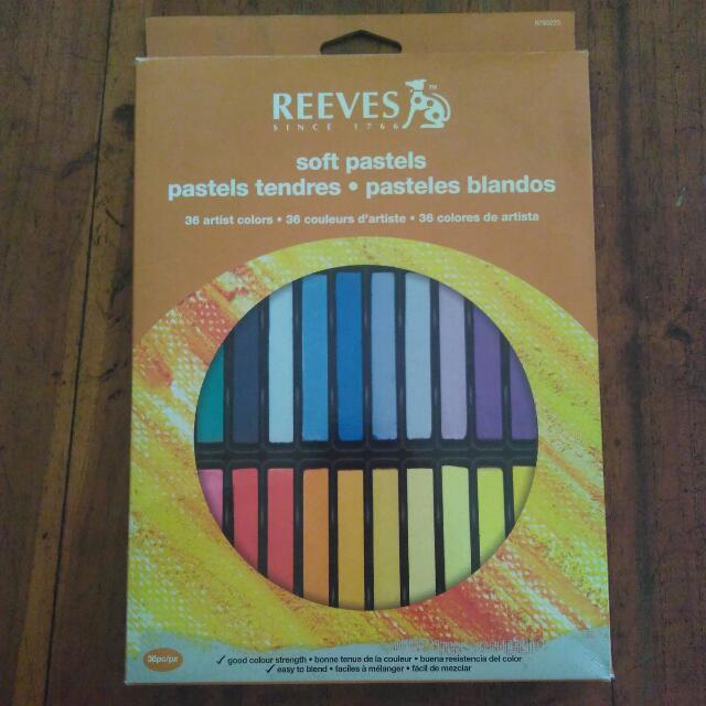 reeves soft pastel 36. hair chalk