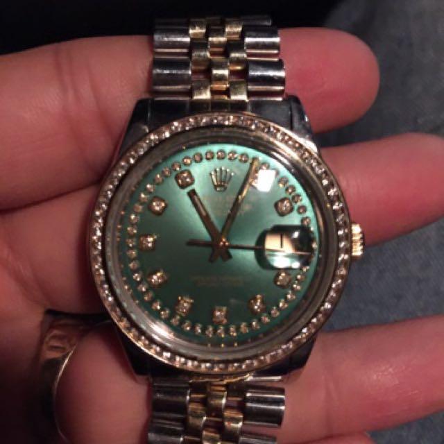 Rolex Watch 36mm Full Size Datejust *quick Sale*