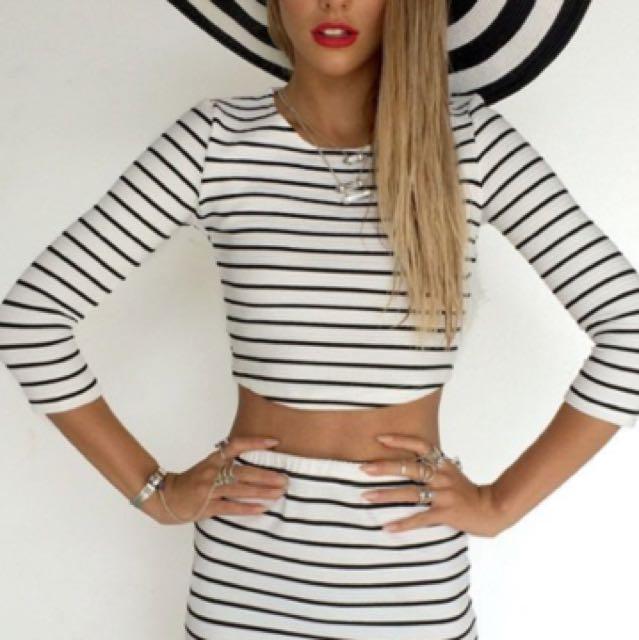 Sabo Skirt Stripe Set