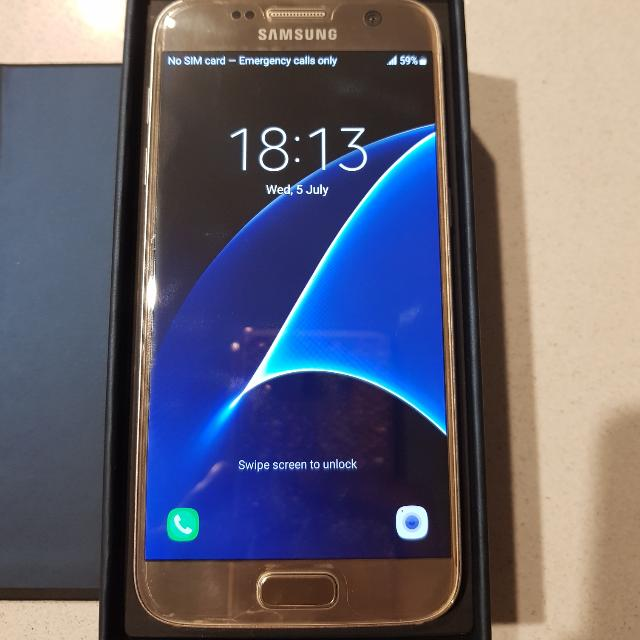 SAMSUNG S7 GOLD 32 GB