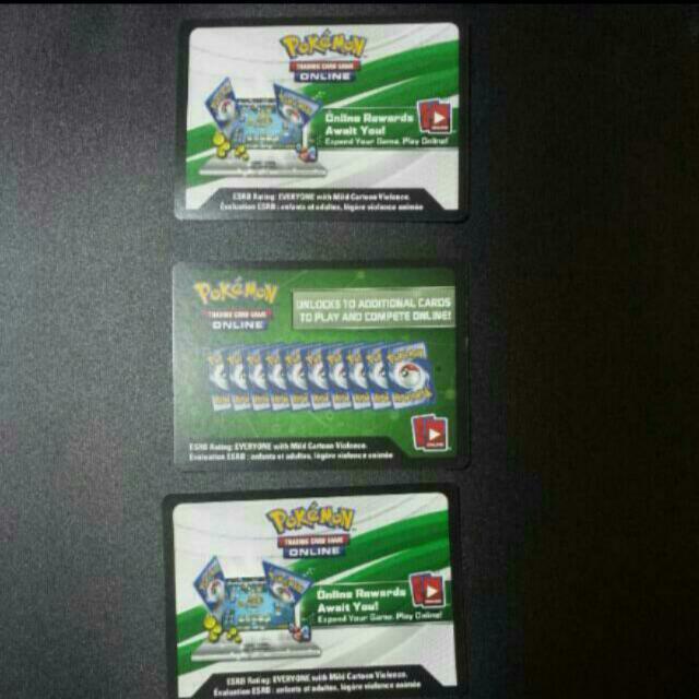 Selling New Pokemon TCG Online Codes (Various)