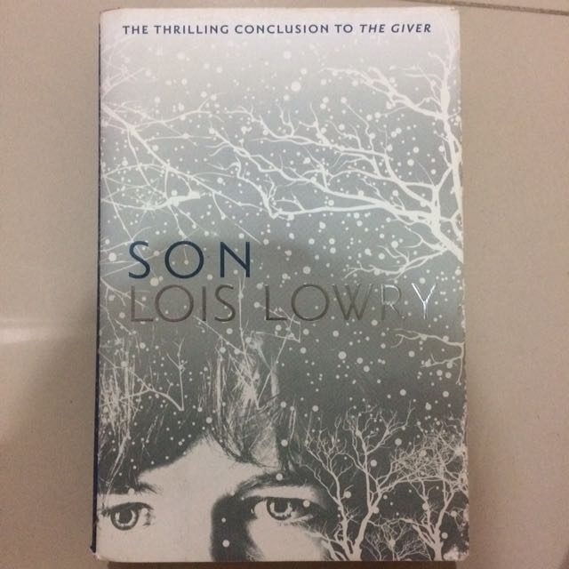 Son By Lois Lowry Hard Cover