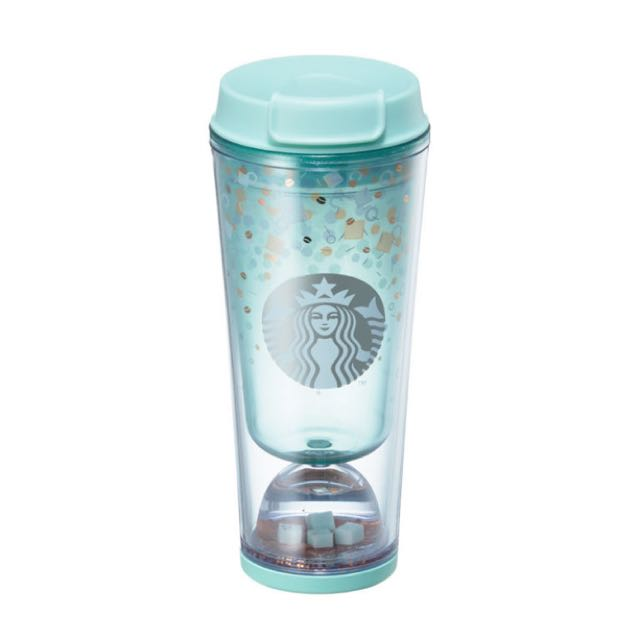 Starbucks Korea Mint Cube Waterball Tumbler