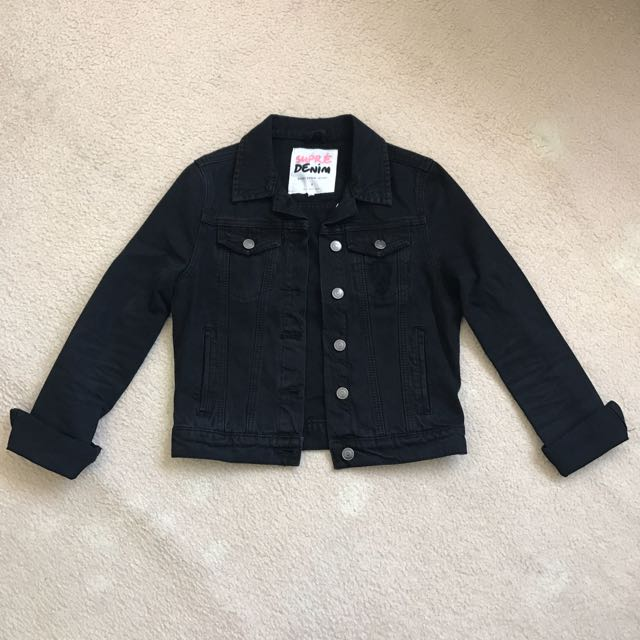 Supre Cropped Denim Jacket