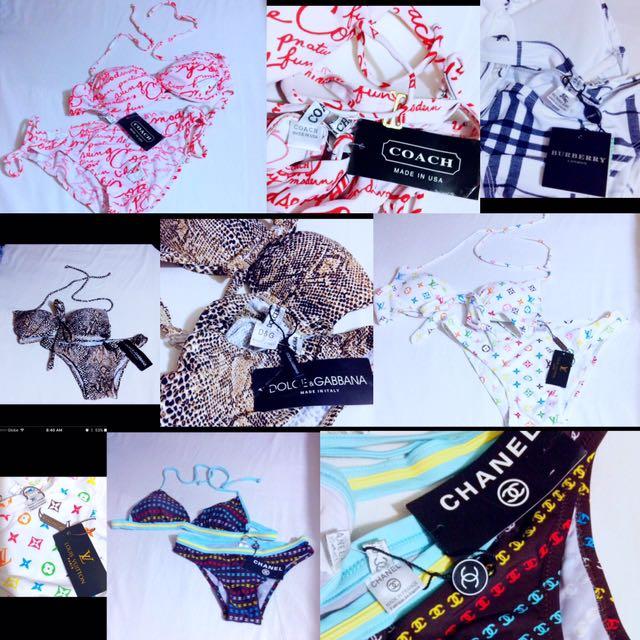 Swimwear/Swimsuit/Summer/Burberry/Coach/LV/Chanel/D&G