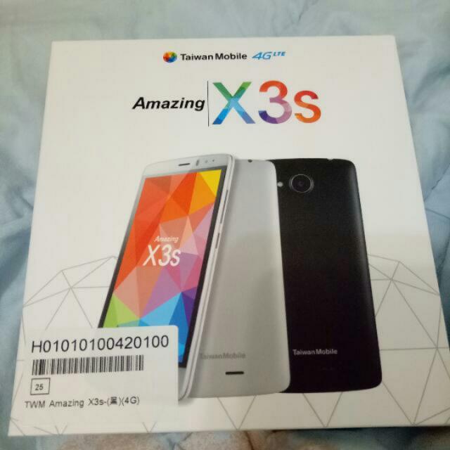 Taiwan Mobile 4G Amazing X3s 黑色