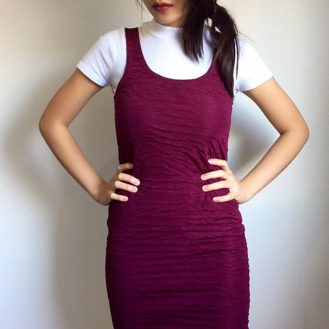 Tank Dress (Maroon)