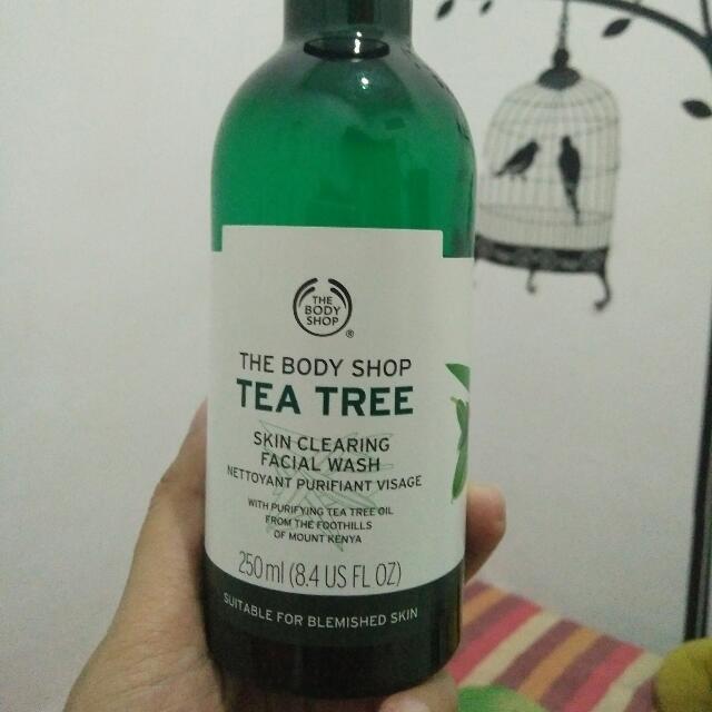 Tea Tree Facial Wash TBS