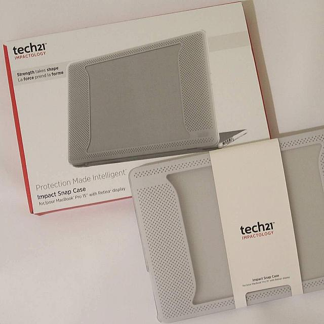 """Tech21 Impact Snap Case For Macbook Pro 15 """" with Retina Display"""