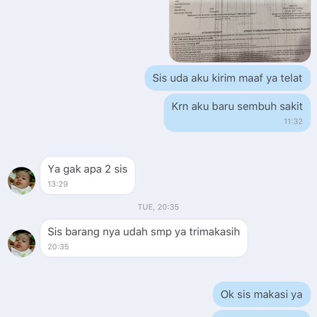 Testi From Great Buyer...thanks For Shoping 💖