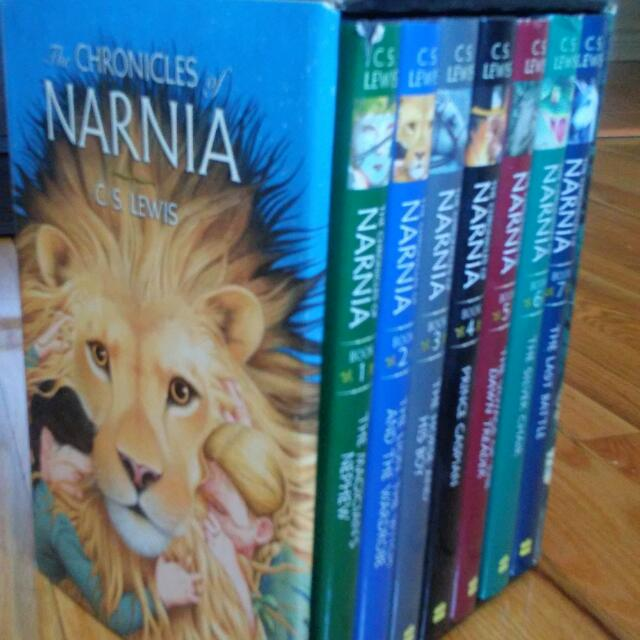 The Chronicles Of Narnia Hardcover Book Set