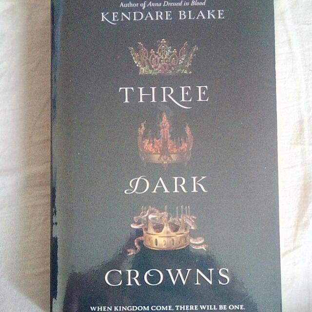 Three Dark Crowns PB by Kendare Blake