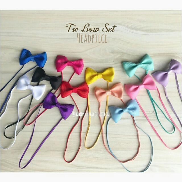 Tie Bow set