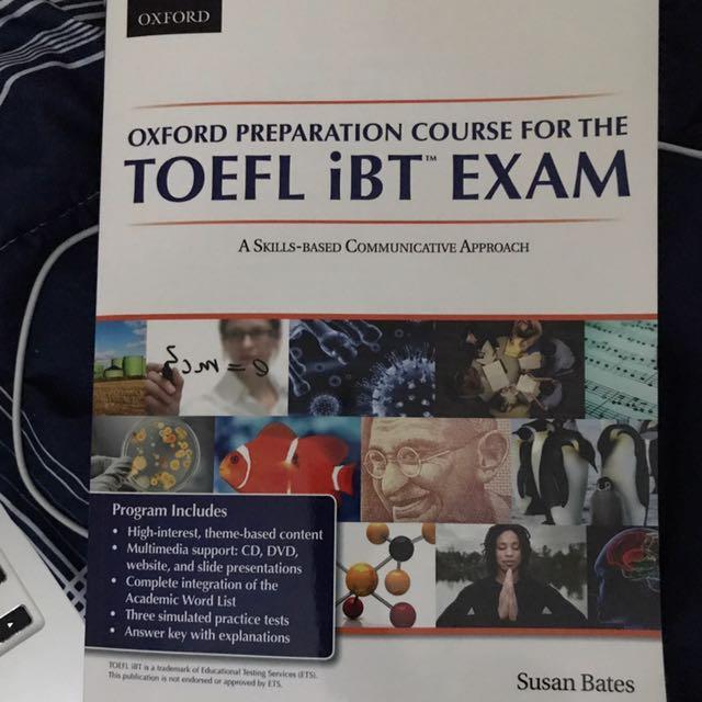Toefl Preapering Book