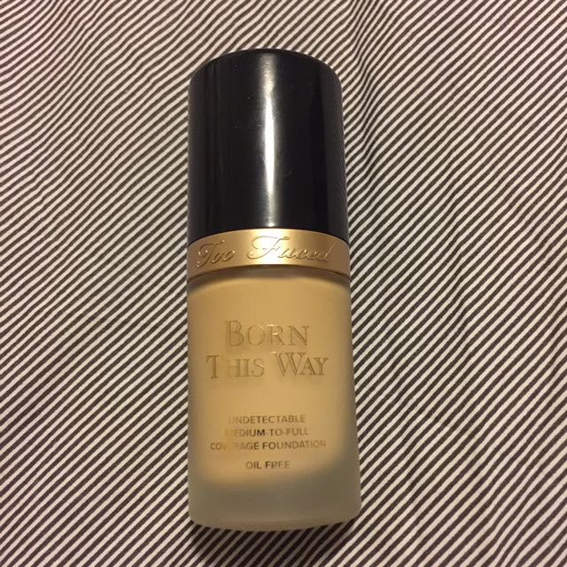 Too Faced Born This Way Foundation #Ivory