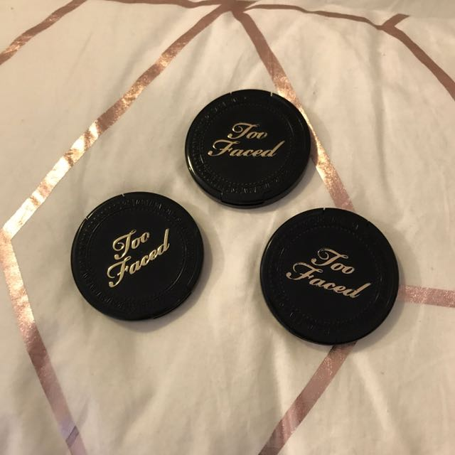 Too Faced Mini Bronzer Trio