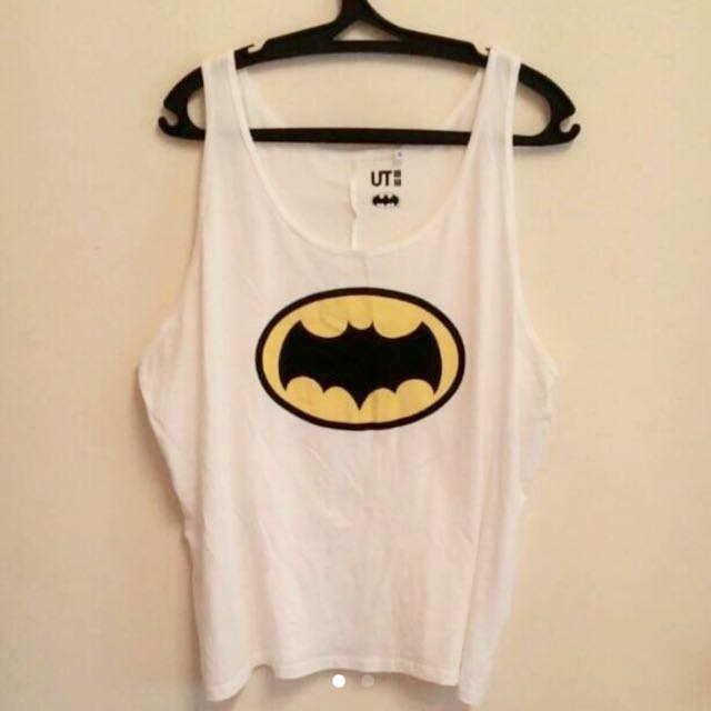 Uniqlo oversized batman singlet