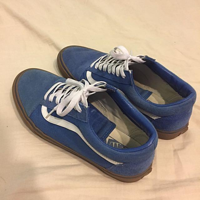 Vans藍色膠底Us8.5