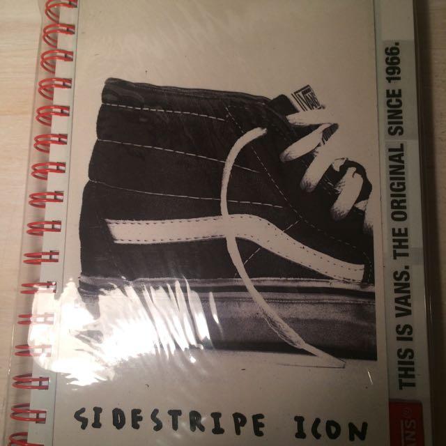 Vans Notebook
