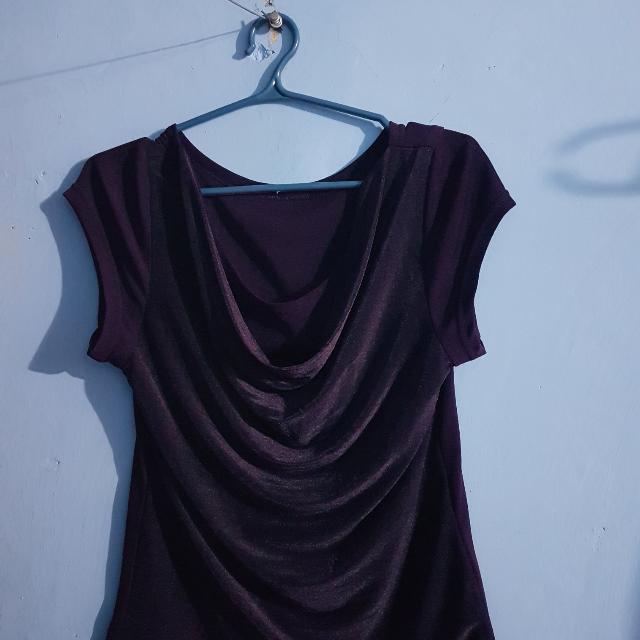 Violet Elegant Design Shirt