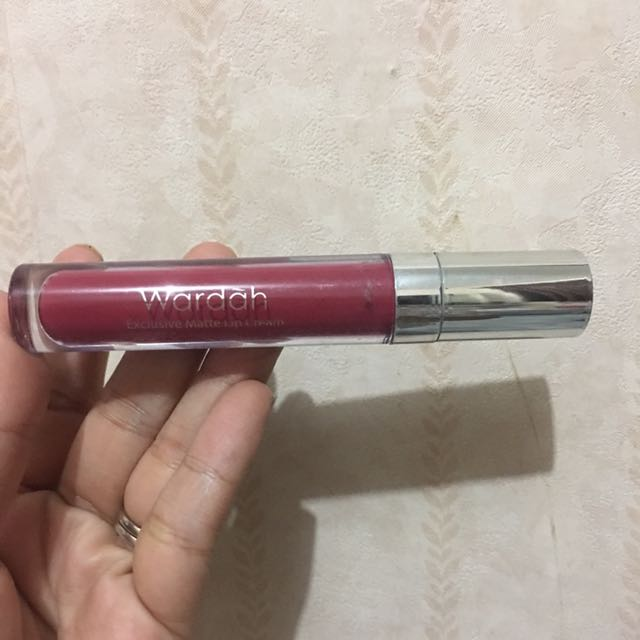 Wardah Lipcream Shade 12 Plum It Up