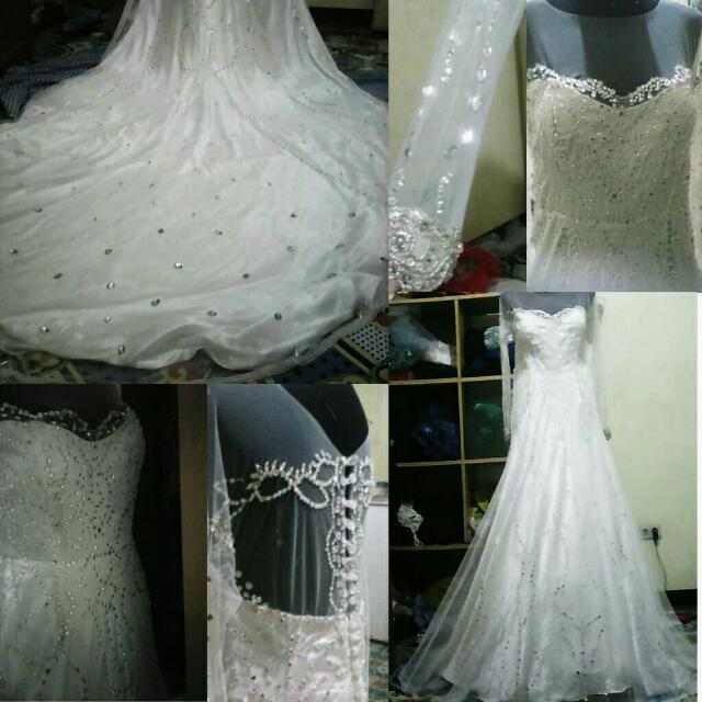 WEDDING GOWN!