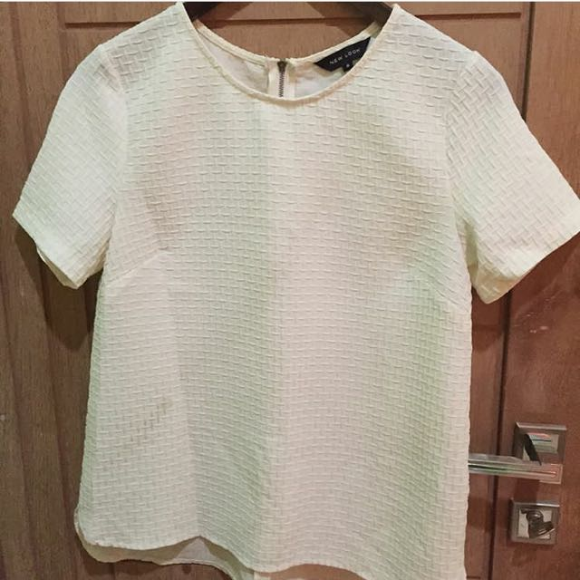 white top by new look