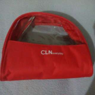 CLN Red Pouch Bag