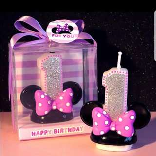 Minnie Candles