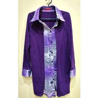 Y.R.Y.S Long Purple Semi Formal Top ❤