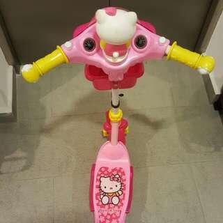 Hello Kitty Kid Scooter .....