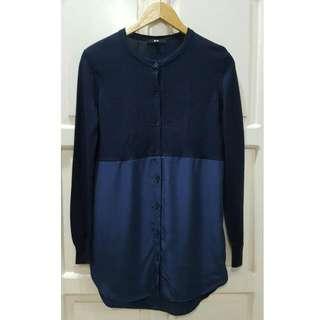 Uniqlo Long-sleeved Blouse