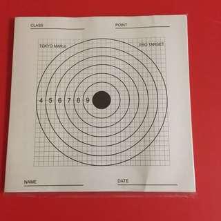 Wargame Airsoft Pro Target 槍靶紙
