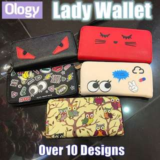 Artistic Design Wallets Lady Pouch Hand Carry Purse Creative Cute Gift Idea