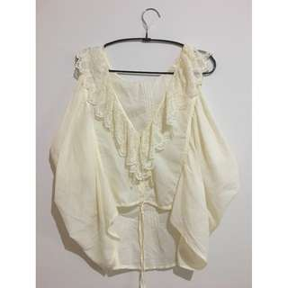 IMPORTED FROM KOREA White Outwear