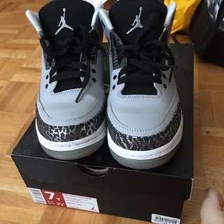 Wolf Grey Jordan 3s