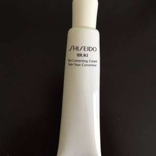 Shiseido Ibuki •Eye Correcting Cream•