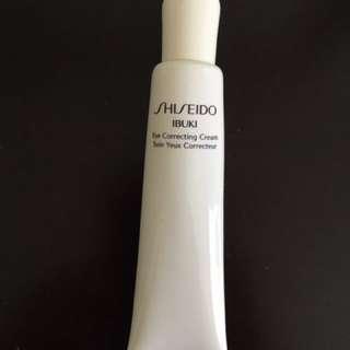 Shiseido Ibuki •Eye Correcting Cream•
