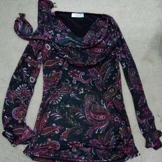 Chiffon Batik Blouse