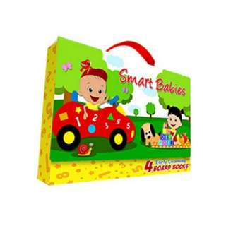 SMART BABIES EARLY LEARNING BOARD BOOKS CARRY CASE