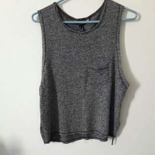 Knitted Muscle Tee