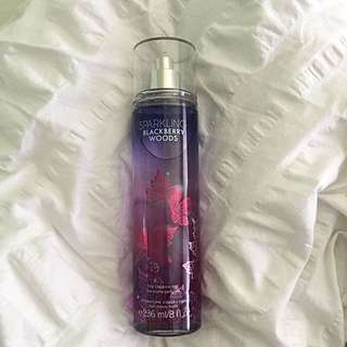 Sparkling Blackberry Woods - Bath and Body Works Body Spray