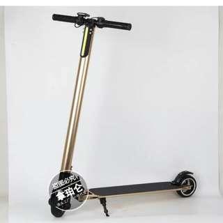 鋁合金電動滑板車