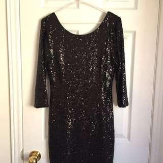 Lulus XL Sequence Dress